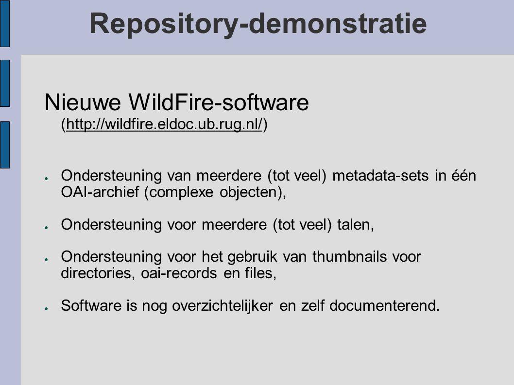 Institutionele Repository van de RUG ● IR http://ir.ub.rug.nl/http://ir.ub.rug.nl/ ● DARE.IR http://dare.ir.ub.rug.nl/http://dare.ir.ub.rug.nl/ ● KB.I