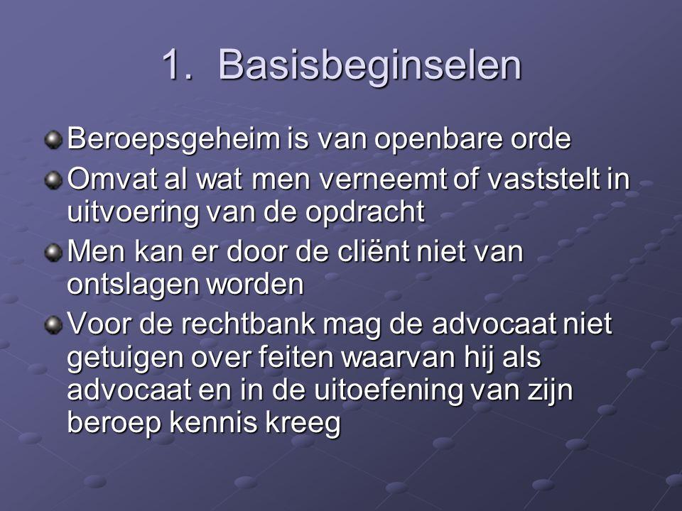Beroepsgeheim Deontologie 2002-2003 E. Boydens en E. Nieuwdorp