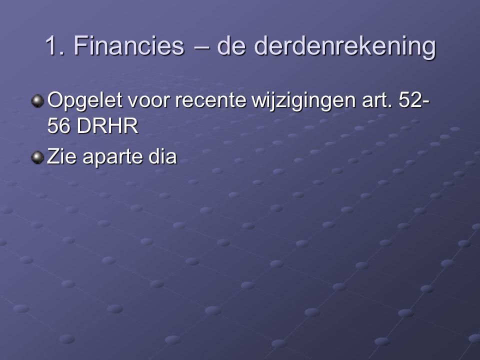 1. Financies – bijdrage (vervolg 2) Advocaat die het bewijs levert dat hij bij een ander Belgische balie de volle bijdrage betaalt, dient slechts 50%