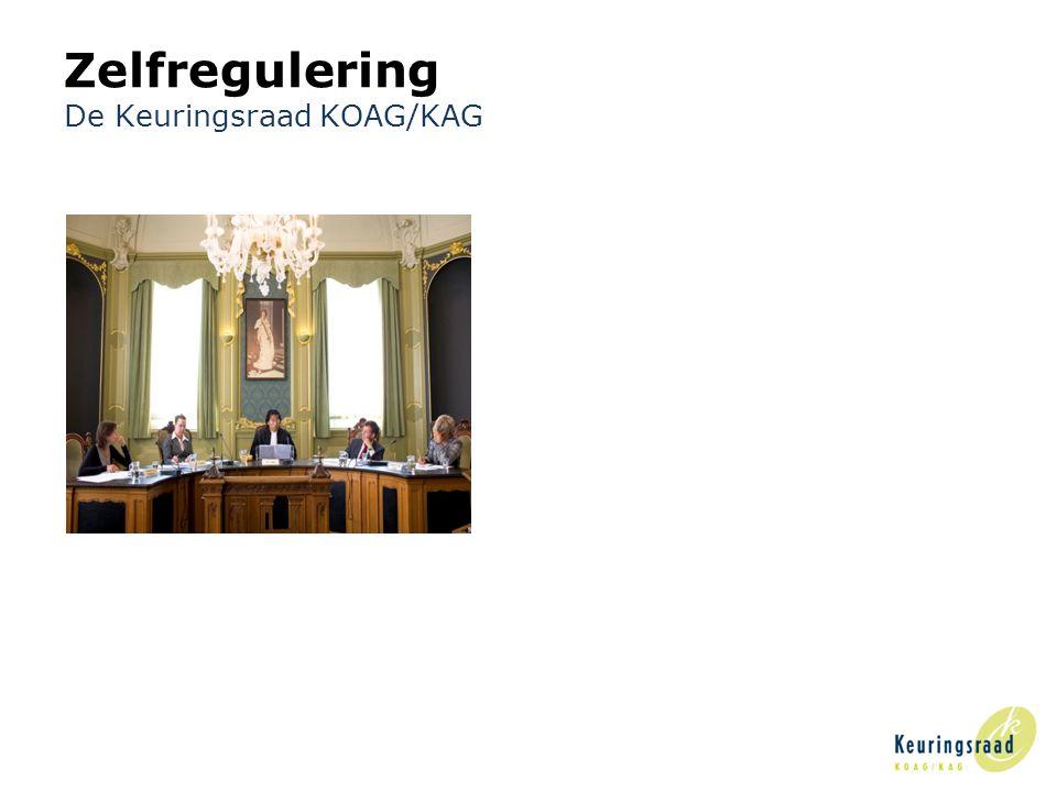 5 Zelfregulering De Keuringsraad KOAG/KAG