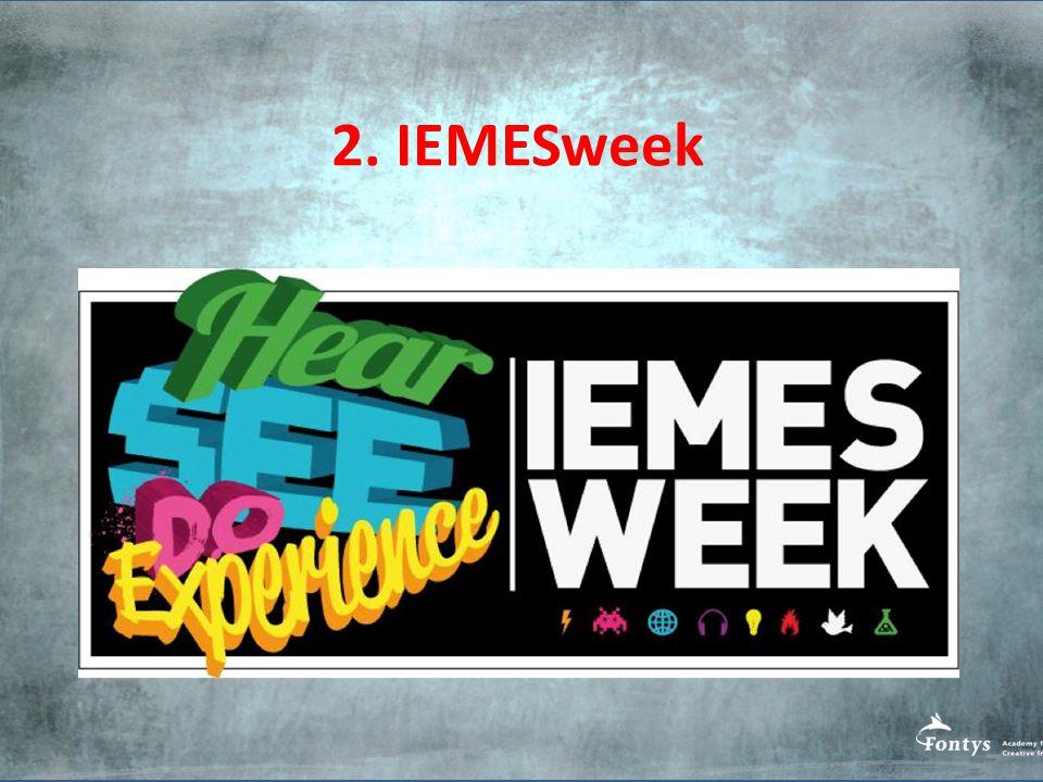 2. IEMESweek