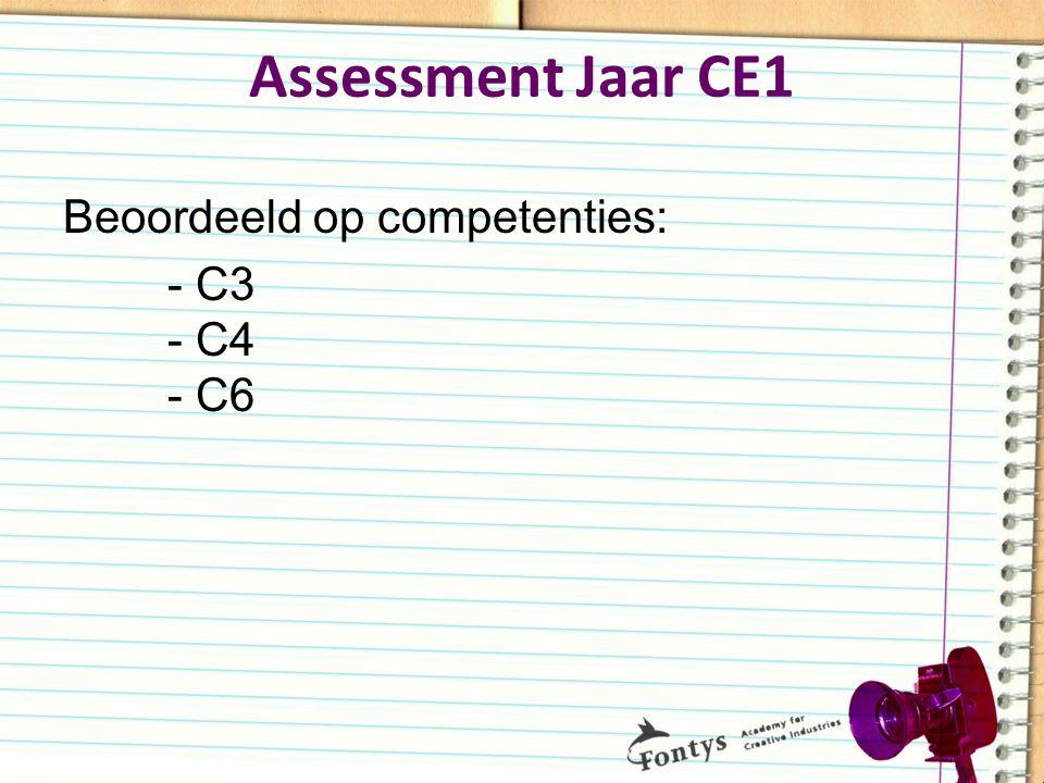 Beoordeeld op competenties: - C3 - C4 - C6