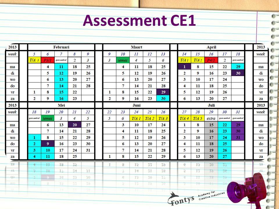 Assessment CE1