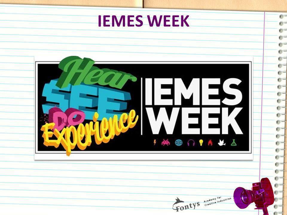 IEMES WEEK