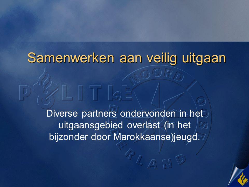 Aanleiding Harderwijk stad met 45000 inwoners, waarvan @@ marokkanen en @@ turken.