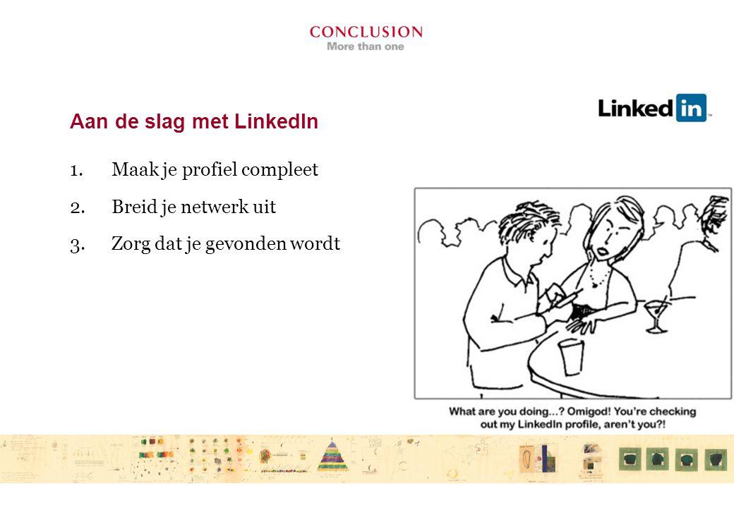 LinkedIn – ontvrienden.