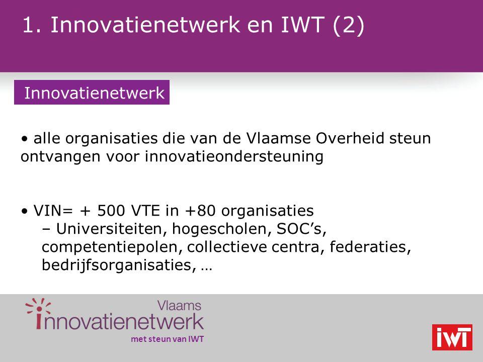 met steun van IWT 2.