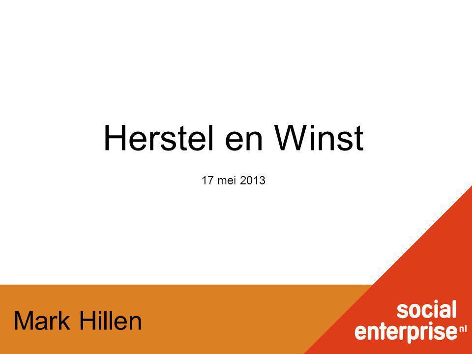 Mark Hillen Herstel en Winst 17 mei 2013
