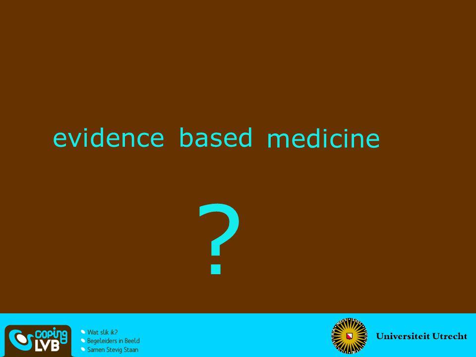 evidence based medicine ?