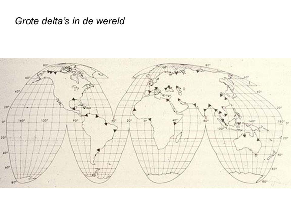 Grote delta's in de wereld