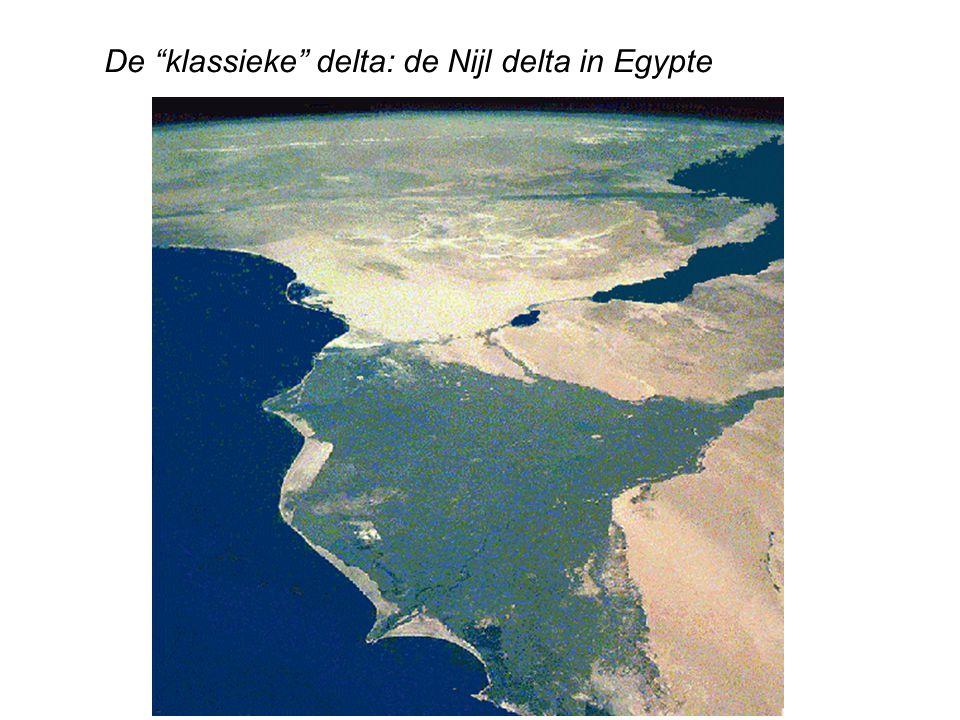 De klassieke delta: de Nijl delta in Egypte