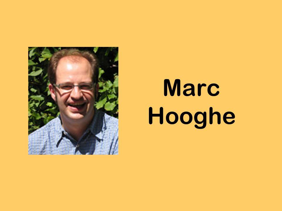 Inhoud Wie is Marc Hooghe.