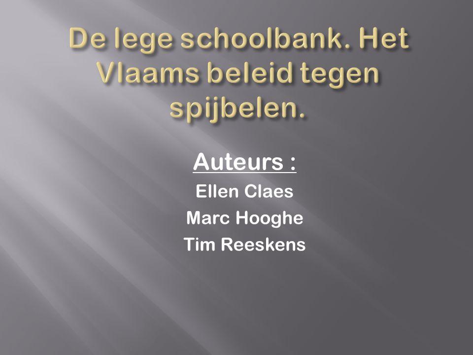 Auteurs : Ellen Claes Marc Hooghe Tim Reeskens