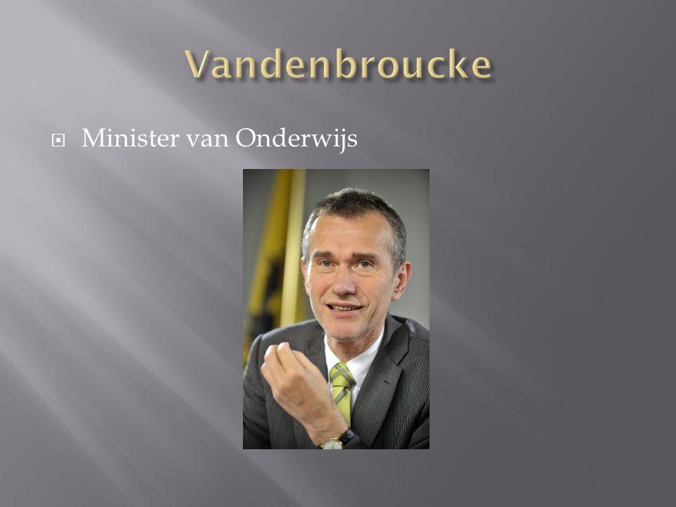  Minister van Onderwijs