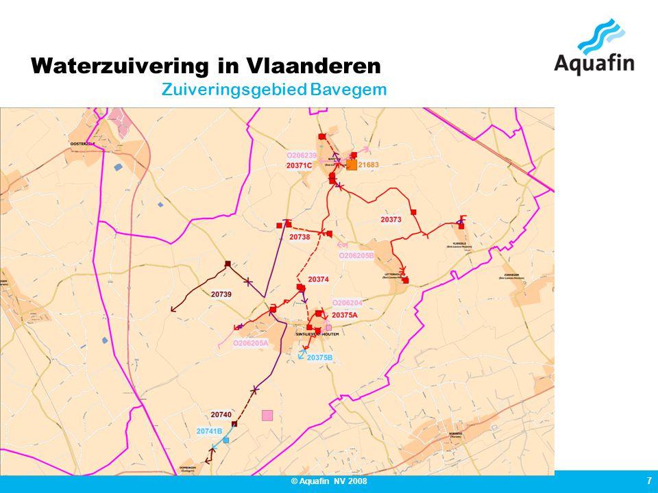 18 © Aquafin NV 2008 Beschrijving van het project Kerkkouterstraat (tussen Kerk en Wetterse stwg)