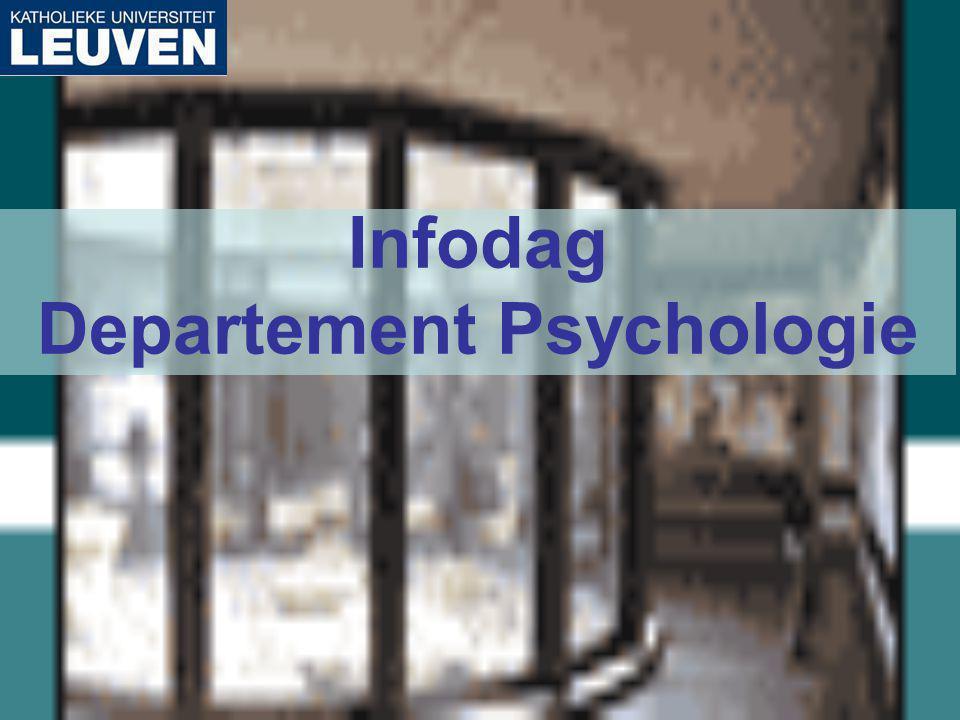 Infodag Departement Psychologie