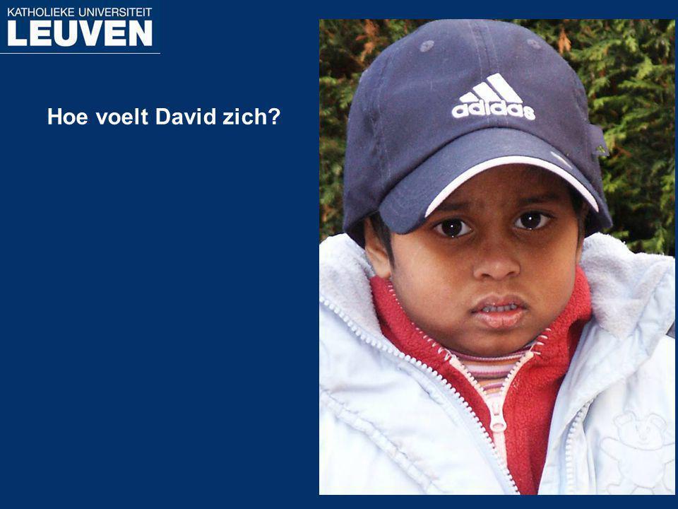 Hoe voelt David zich?