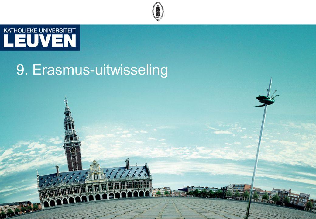 9. Erasmus-uitwisseling