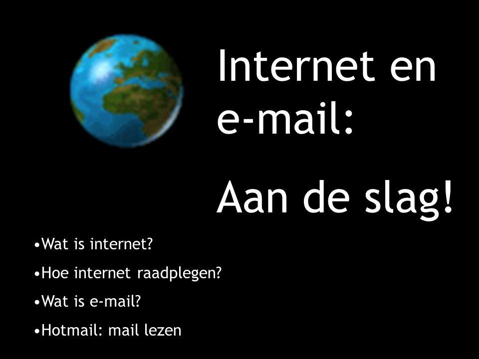 Wat is internet?