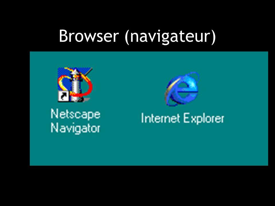 Oefening Bezoek volgende websites en neem ze op in uw bookmarks (signets): www.rtbf.be www.kinepolis.com www.lesoir.be www.lemonde.fr www.yahoo.fr www.hotmail.fr