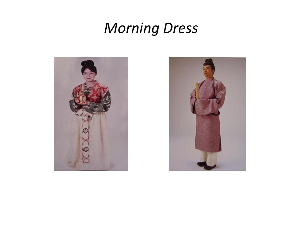 Morning Dress