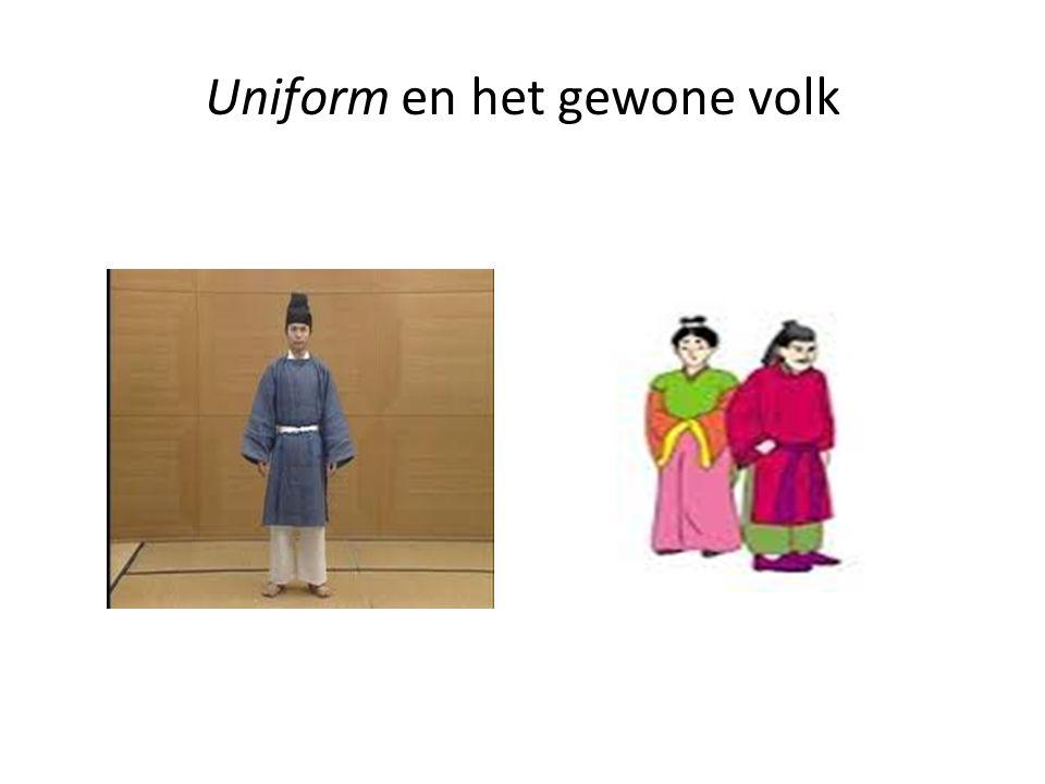 Uniform en het gewone volk