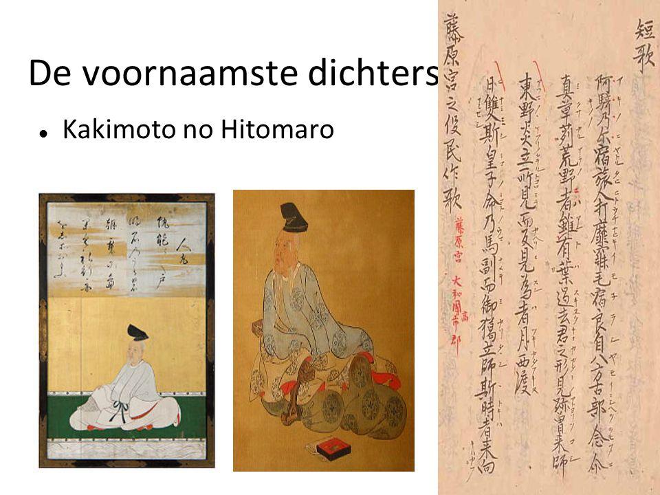 De voornaamste dichters Kakimoto no Hitomaro