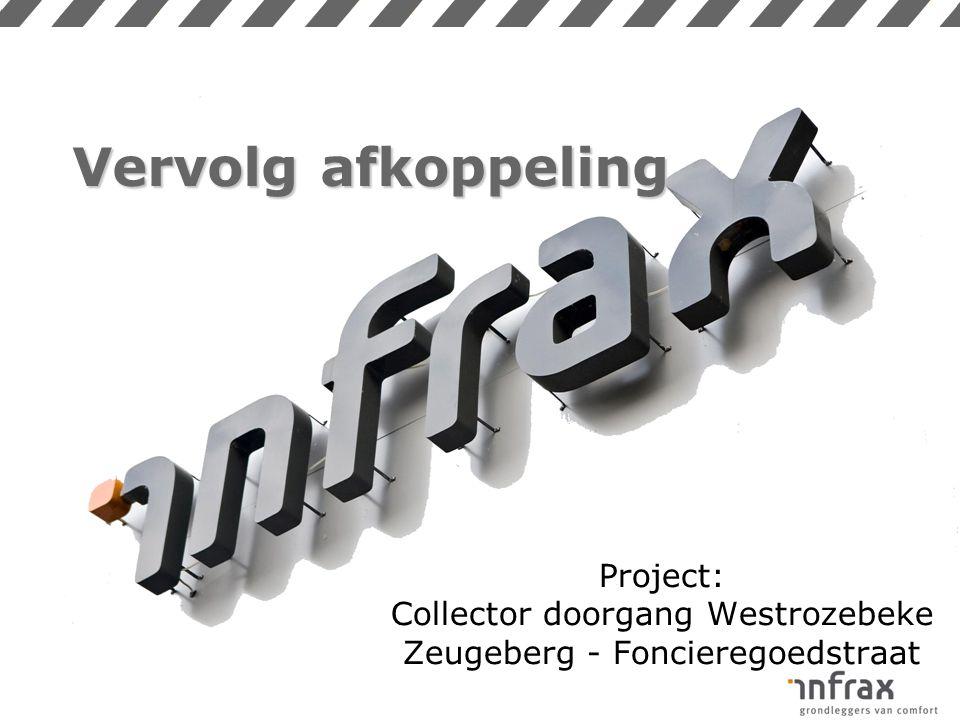 Vervolg afkoppeling Project: Collector doorgang Westrozebeke Zeugeberg - Foncieregoedstraat