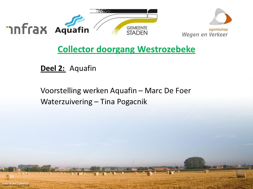 15-12-2010 Aquafin partner for all wastewater projects 6 Situering