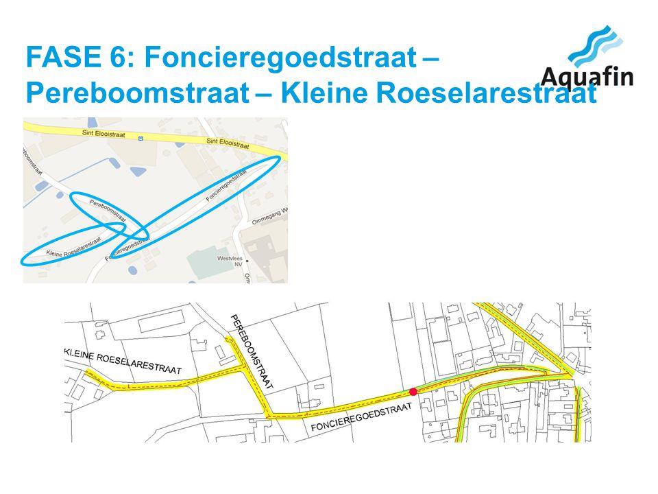 FASE 6: Foncieregoedstraat – Pereboomstraat – Kleine Roeselarestraat