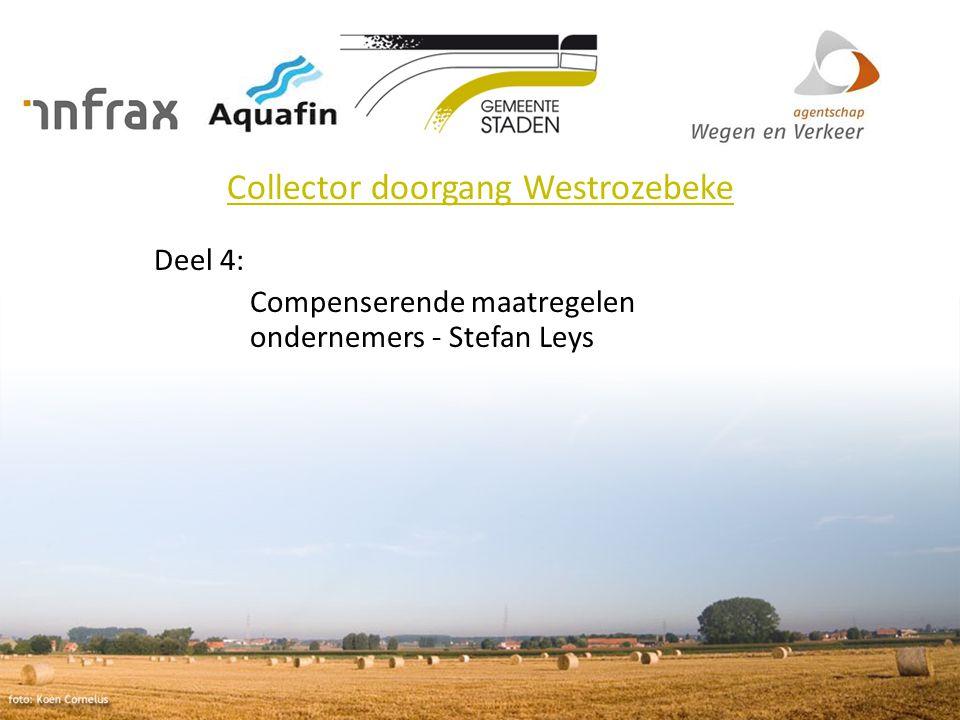 Collector doorgang Westrozebeke Deel 4: Compenserende maatregelen ondernemers - Stefan Leys