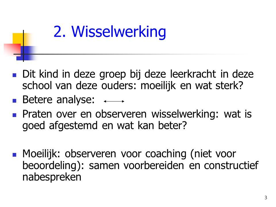 3.Ondersteuningsbehoeften 4 Wat heeft leerkracht nodig om aanpak te bieden.