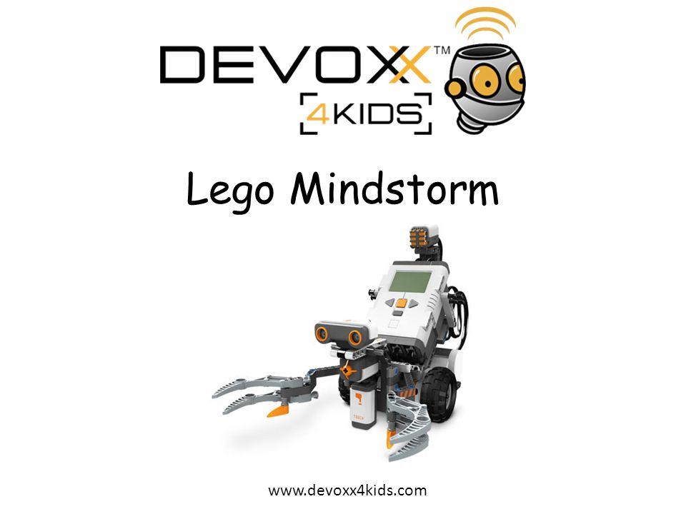 www.devoxx4kids.com Zijn brein waarmee sensors en motoren zijn verbonden.