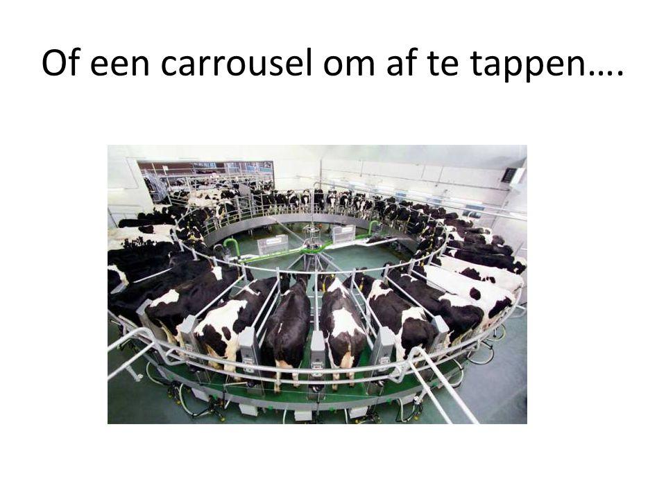Of een carrousel om af te tappen….