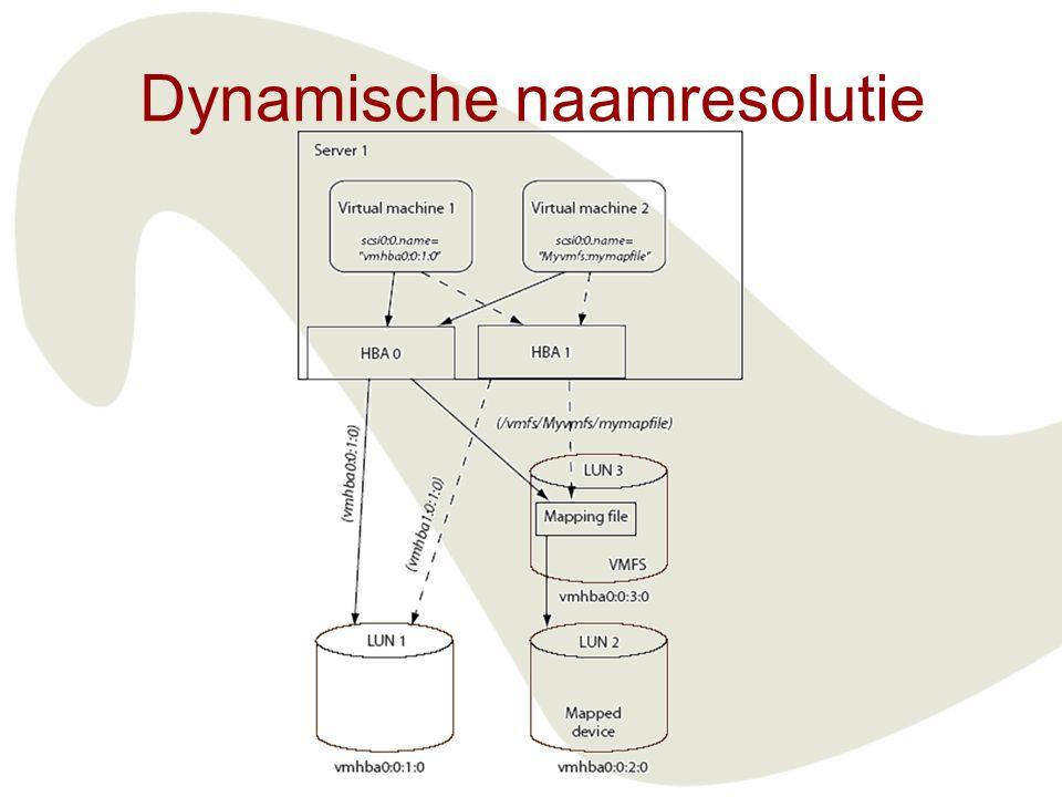 Dynamische naamresolutie