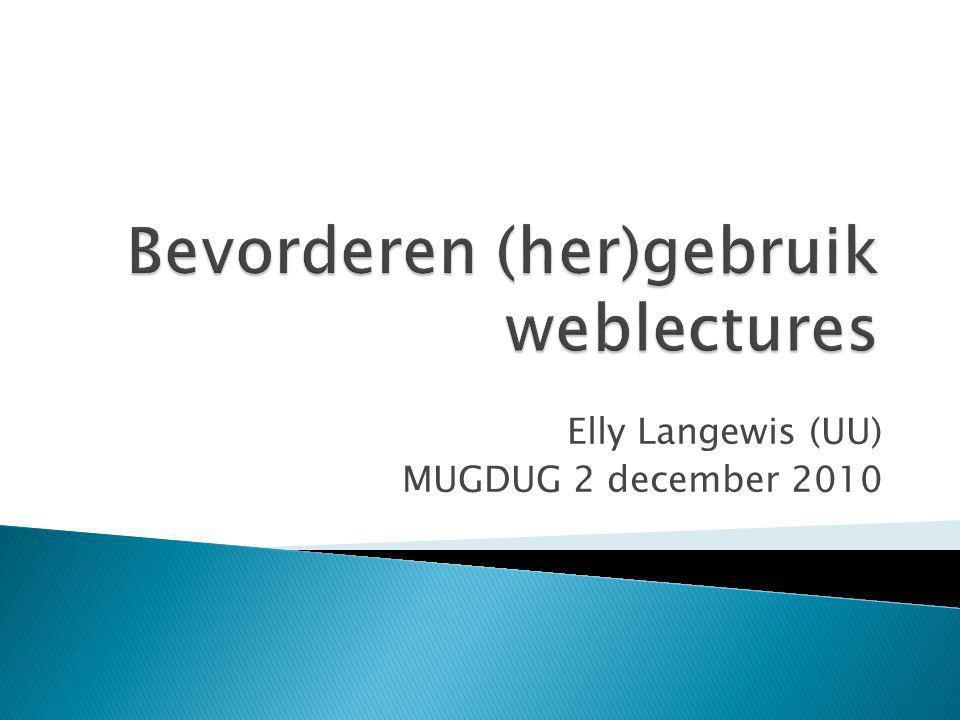 Elly Langewis (UU) MUGDUG 2 december 2010