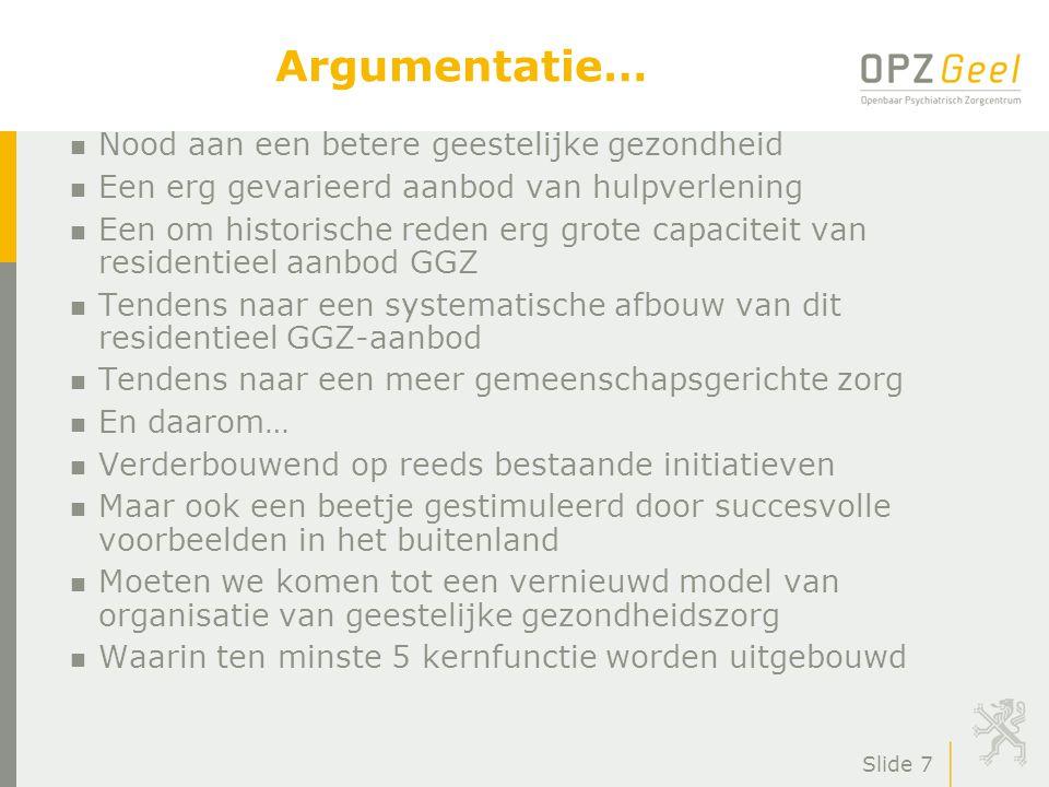 Slide 8 Toekomstig model voor GGZ volgens artikel 107