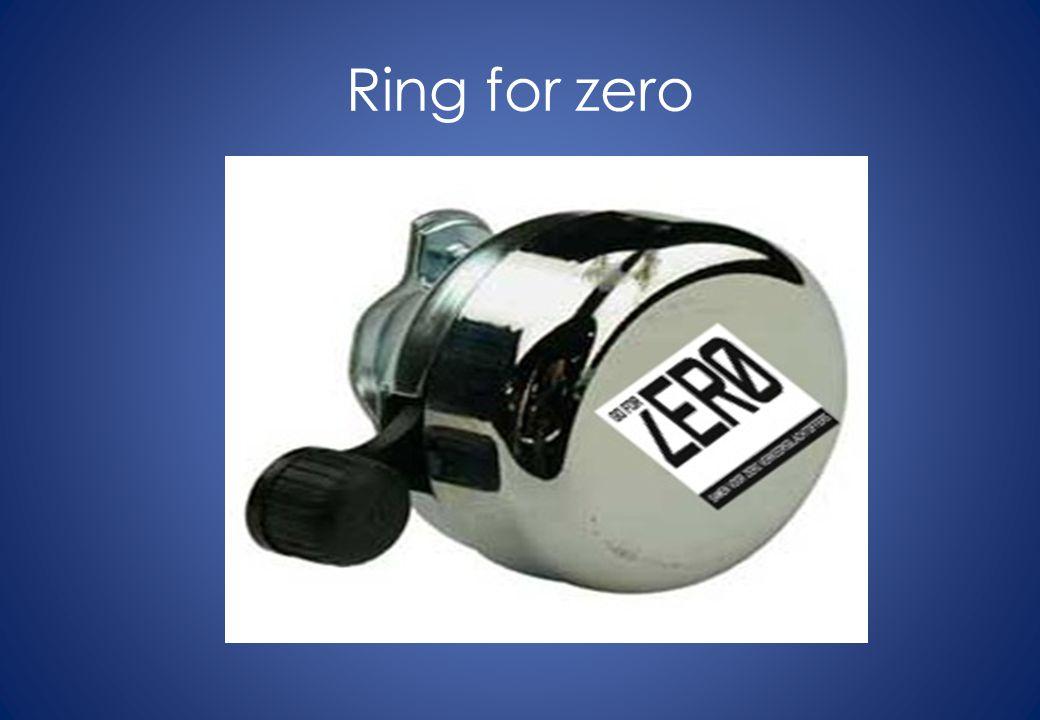 Ring for zero
