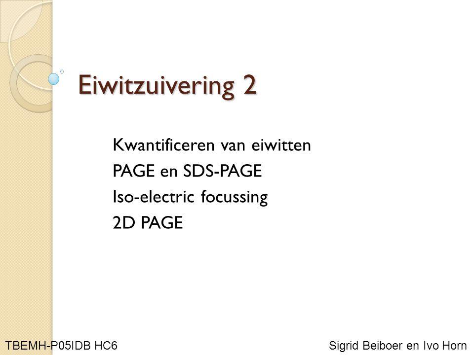 Kwantificering OD 280 of A 280 Kleuring door complexvorming Spectrofotometrische bepalingen: waarden tussen 0,1 en 1,0!!!!!!!!!!!.
