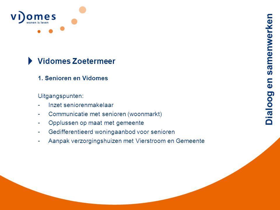 Dialoog en samenwerken Vidomes Zoetermeer 2.
