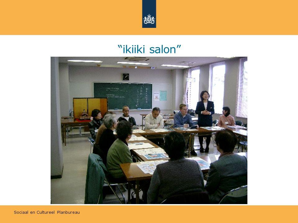 Sociaal en Cultureel Planbureau ikiiki salon