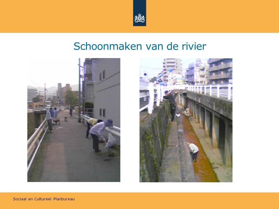 Sociaal en Cultureel Planbureau Schoonmaken van de rivier