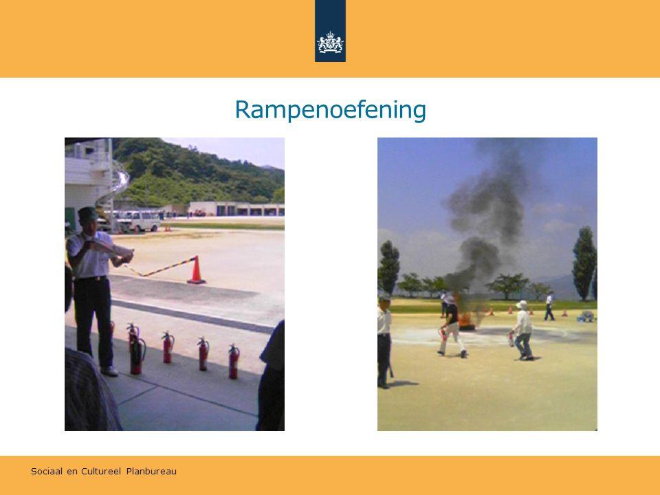 Sociaal en Cultureel Planbureau Rampenoefening
