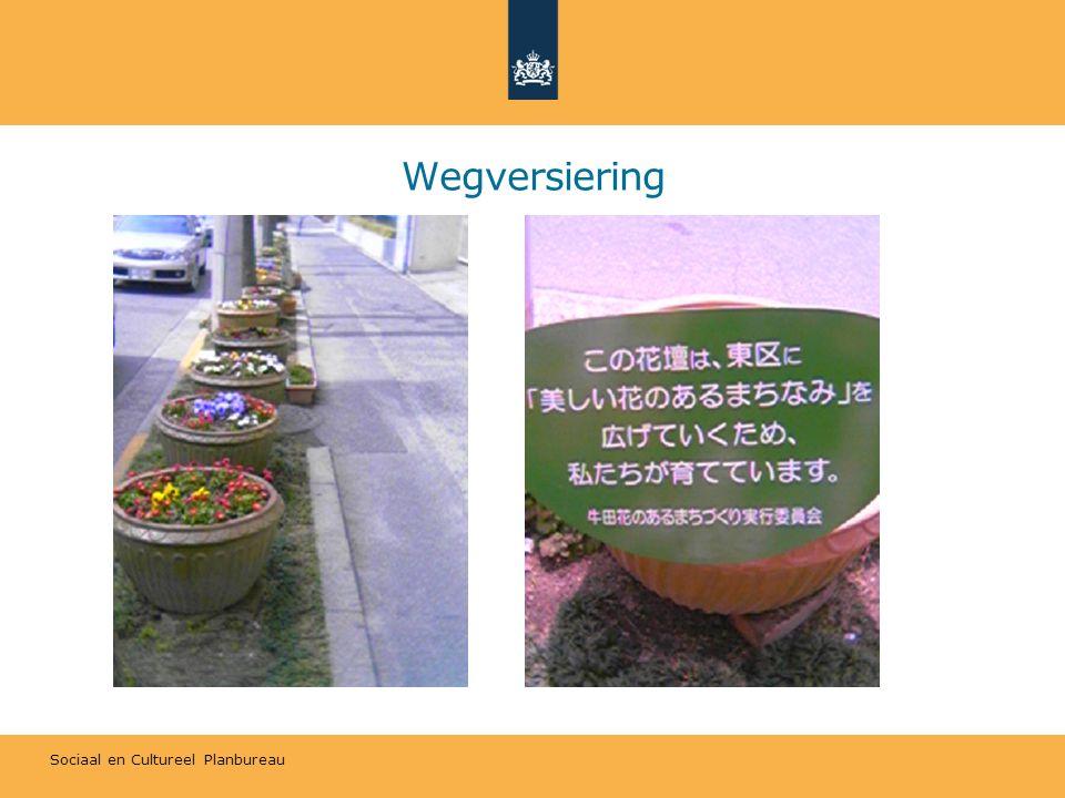Sociaal en Cultureel Planbureau Wegversiering