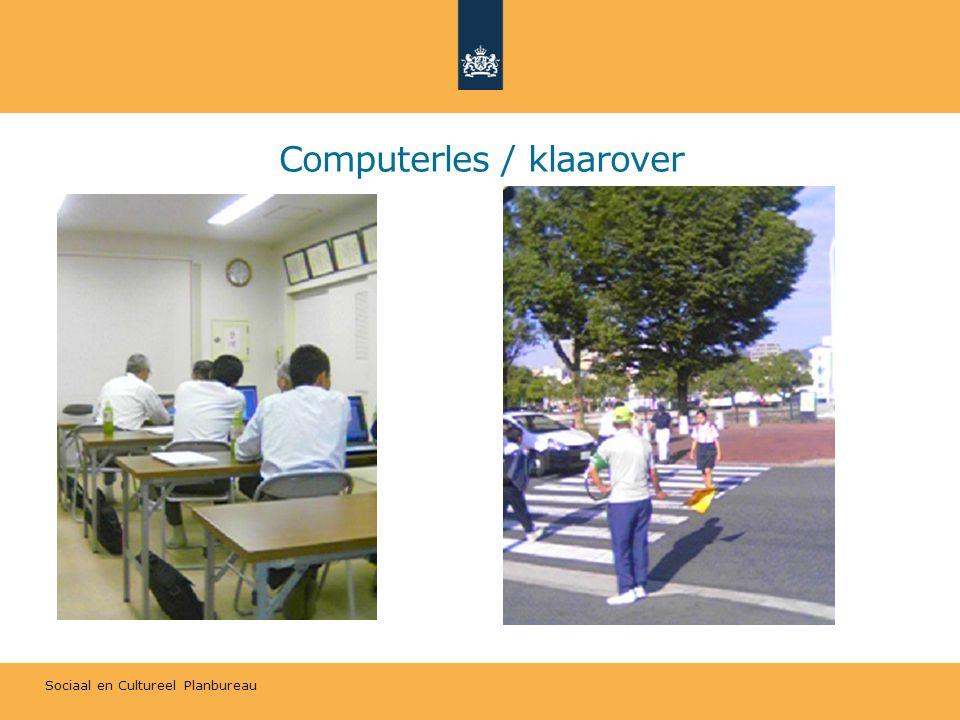 Sociaal en Cultureel Planbureau Computerles / klaarover