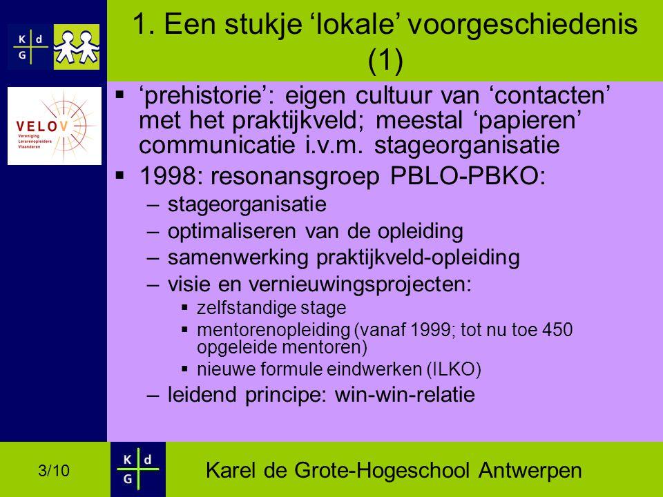 Karel de Grote-Hogeschool Antwerpen 3/10 1.