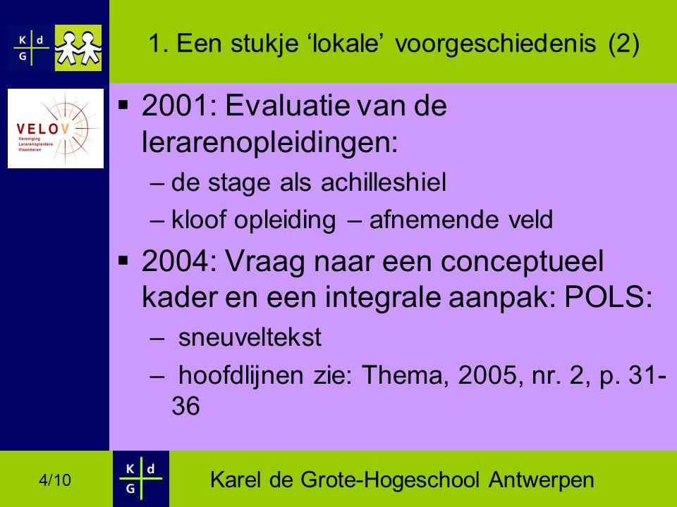 Karel de Grote-Hogeschool Antwerpen 4/10 1.