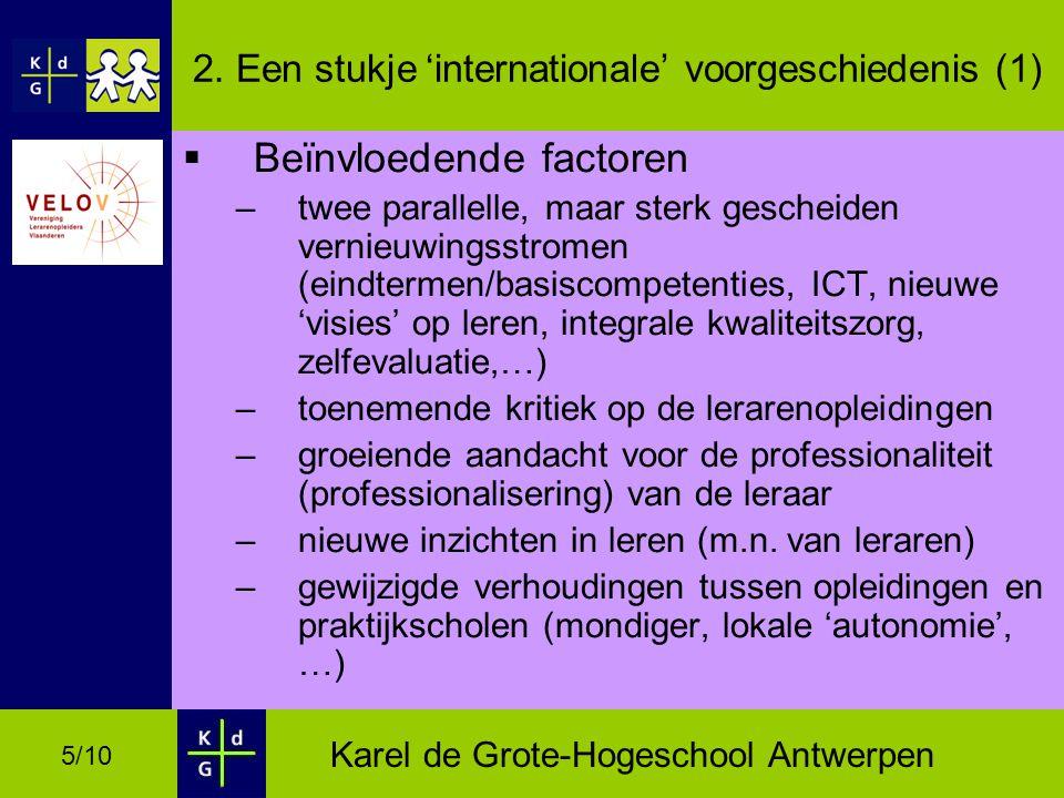 Karel de Grote-Hogeschool Antwerpen 5/10 2.