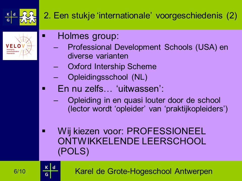 Karel de Grote-Hogeschool Antwerpen 6/10 2.