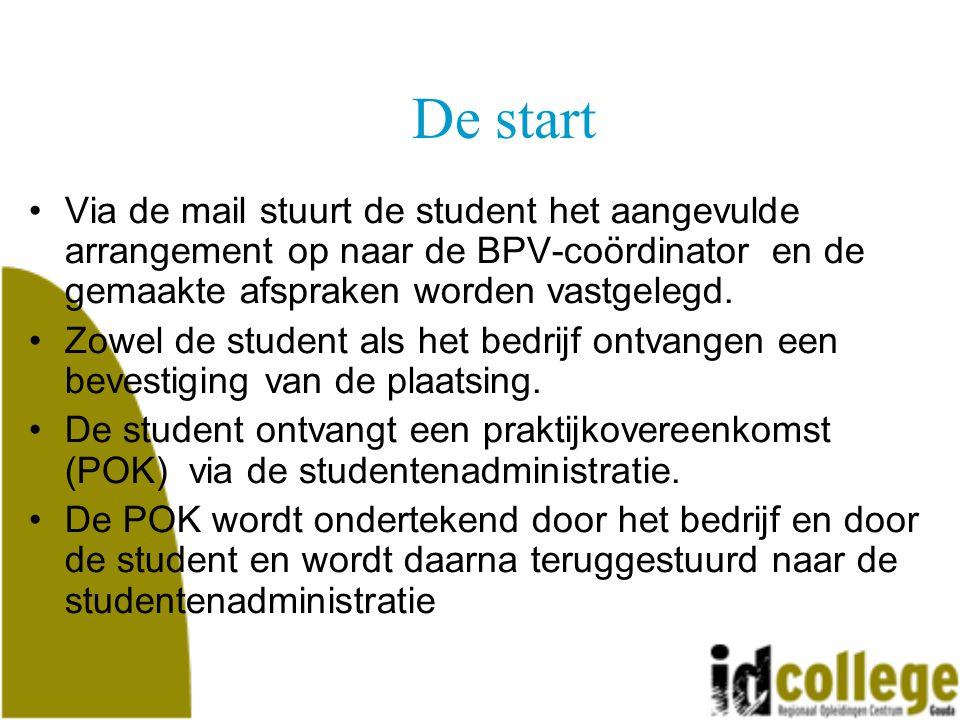 De opleiding afronden De student is geslaagd als wordt voldaan aan de volgende eisen: –De diverse PvB's zijn met voldoende afgerond.